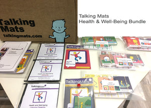 Talking Mats  - Health and Well-Being Bundle