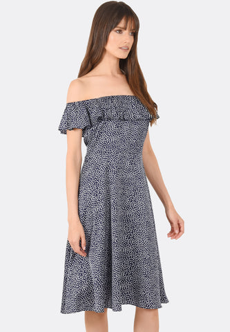 Justice Off Shoulder Dress
