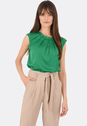 Claire Pleat Top