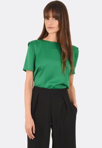 Claire Tucked Shoulder Top