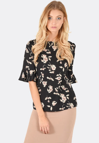 Rae Flare Sleeve Top
