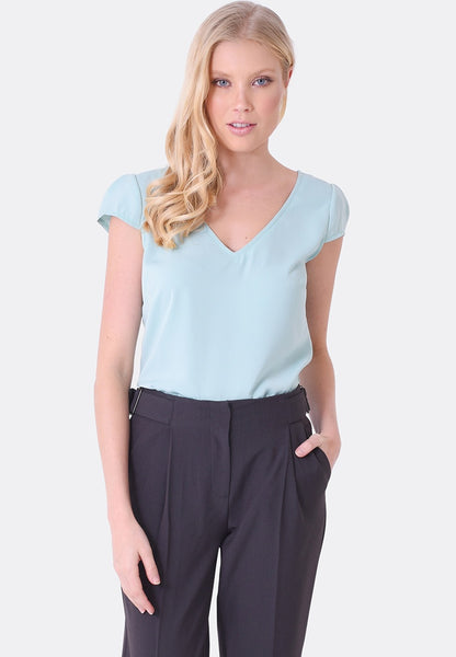 Sophia Cap Sleeve Top