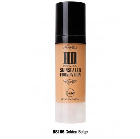 HD PERFECTION SKINSEALER FOUNDATION Golden Beige HS106