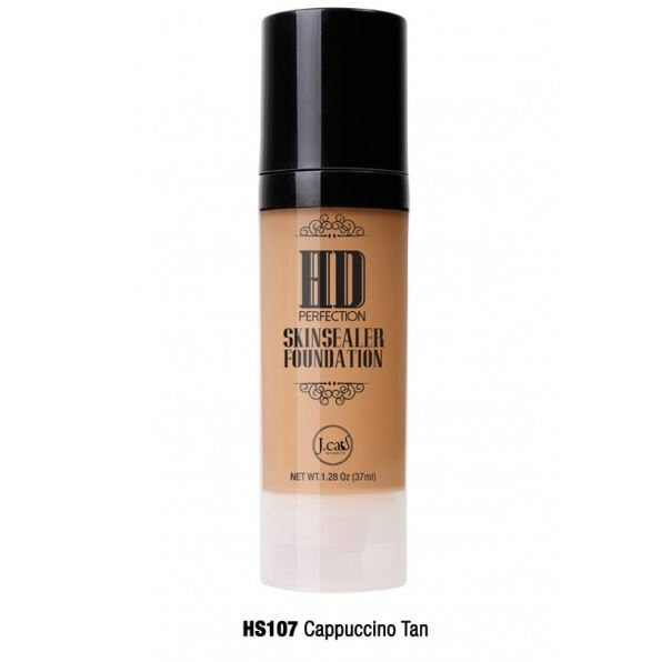 HD PERFECTION SKINSEALER FOUNDATION Cappuccino Tan HS107
