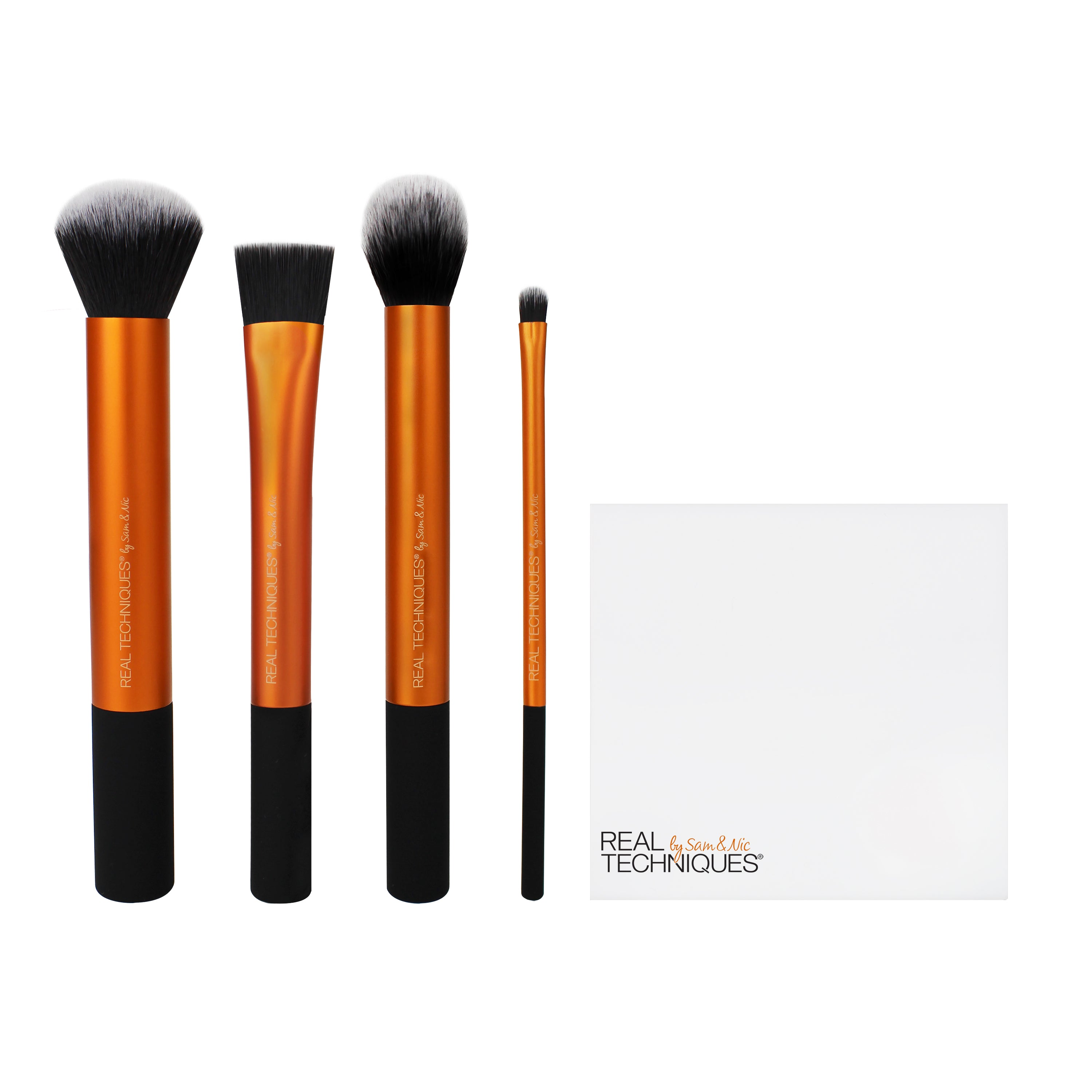 Real Techniques FLAWLESS BASE SET Makeup Brushes