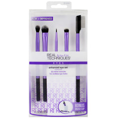 Real Techniques ENHANCE EYE SET Makeup Brushes