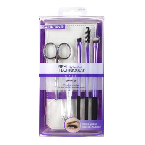 Real Techniques BROW SET Makeup Brushes