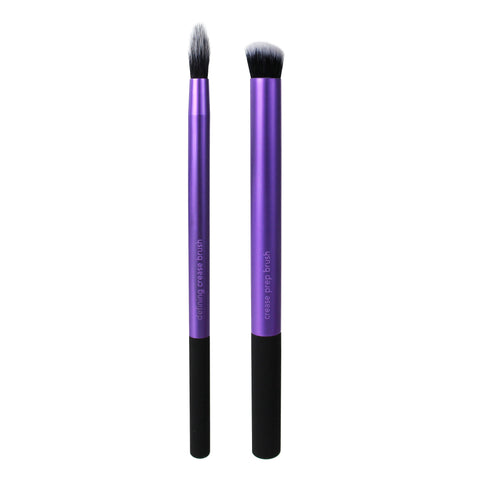 Real Techniques PERFECT CREASE DUO Makeup Brush Set