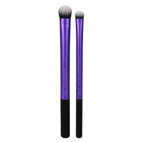 Real Techniques INSTAPOP EYE BRUSH DUO Makeup Brush Set
