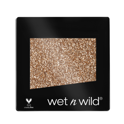 Wet n Wild Color Icon Glitter Eyeshadow Single BRASS