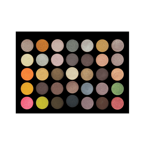 35M - 35 Colour Metal Eyeshadow Palette