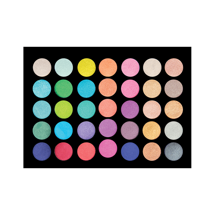 35SH - 35 Colour Shimmer Eyeshadow Palette