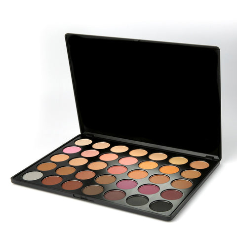 35B MATTE WARM EYESHADOW PALETTE