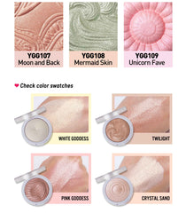 You Glow Girl Baked Highlighter - Bella Rose