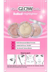 You Glow Girl Baked Highlighter - Pink Goddess