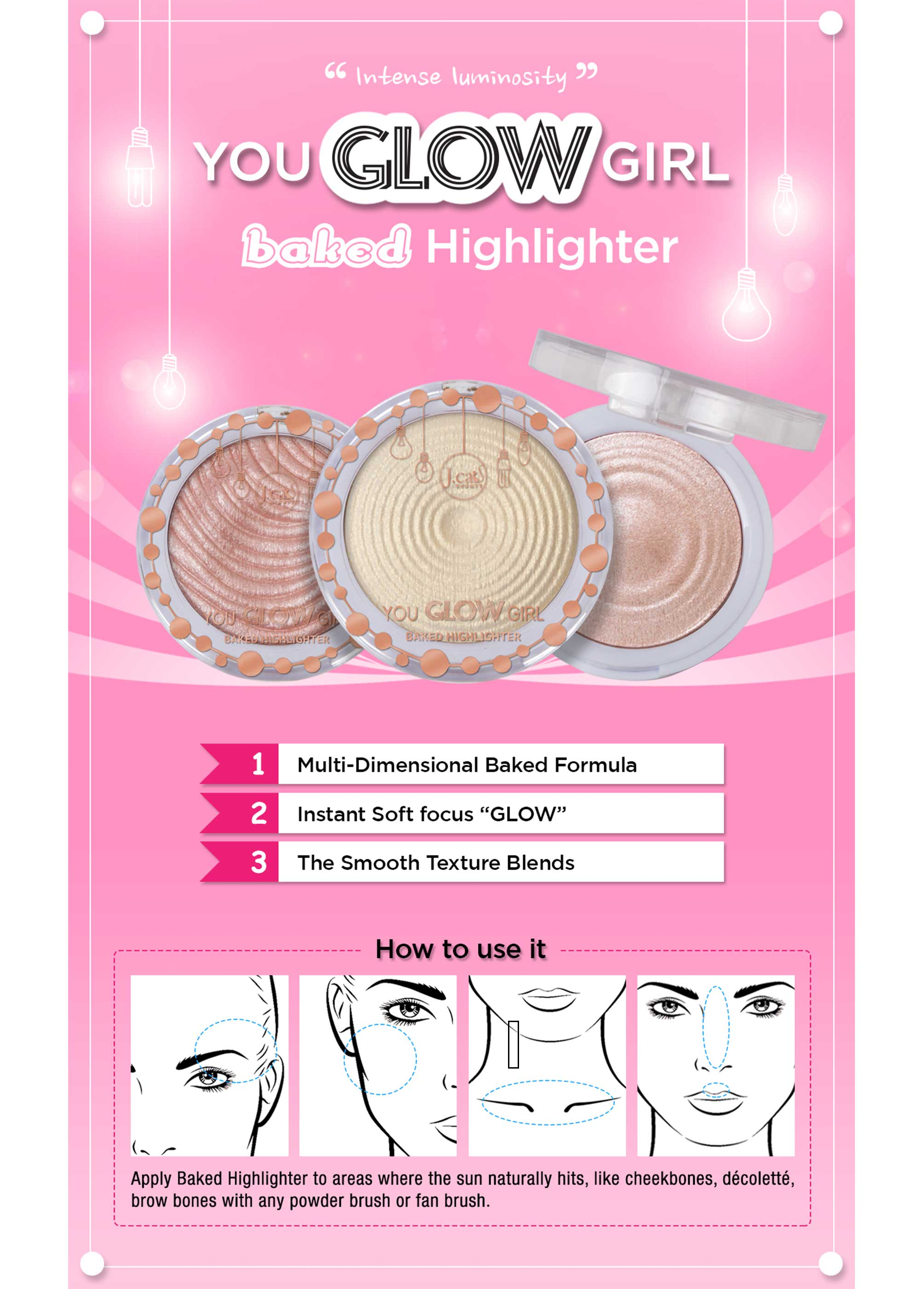 You Glow Girl Baked Highlighter - Crystal Sand