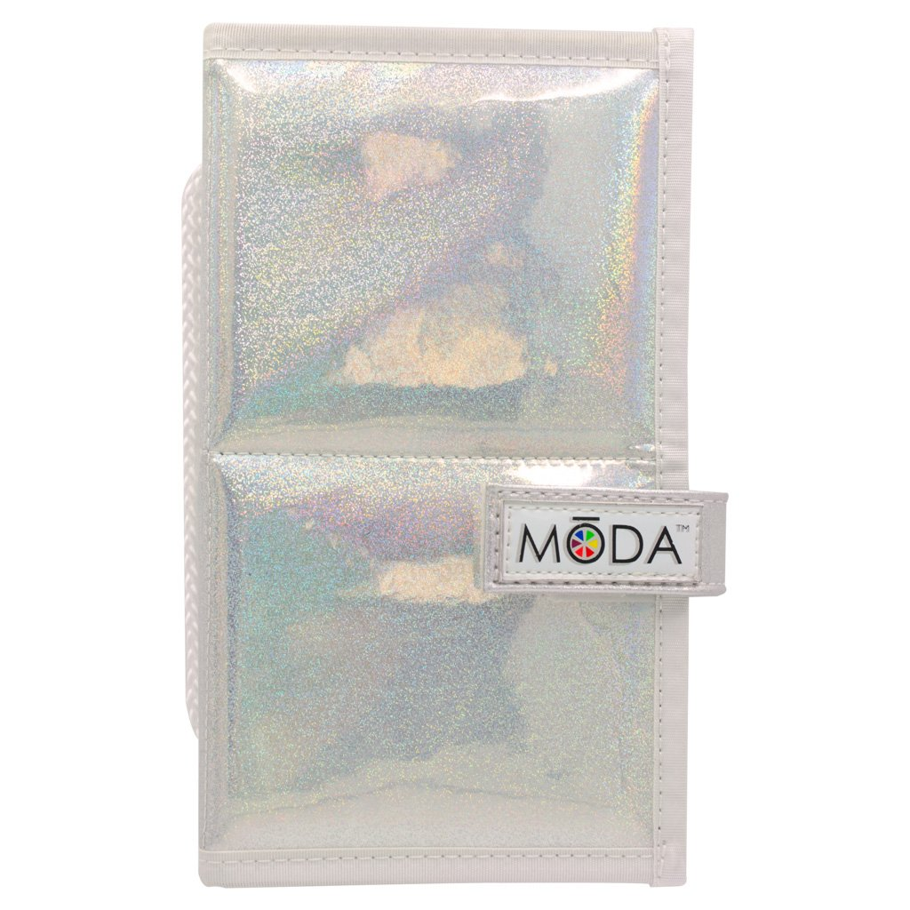 MODA MYTHICAL 6PC SPLASH TRAVEL KIT Makeup Brush Set & Holographic Case