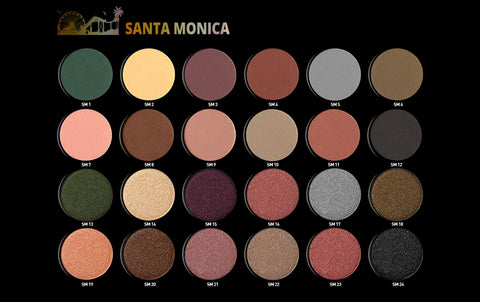 Santa Monica- 24 Shade Eyeshadow Palette ESP102