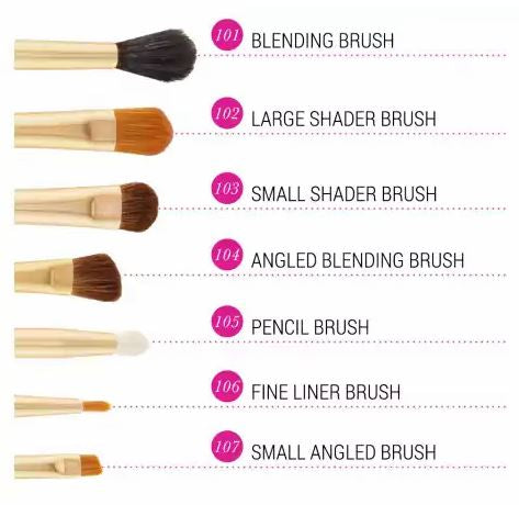 Eye Essential - 7 Piece Brush Set