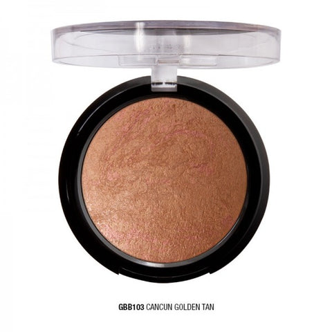 Golden Soleil Baked Bronzer - Cancun Golden Tan