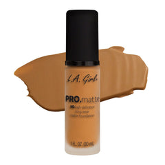 GLM680 Golden Bronze PRO Matte Foundation