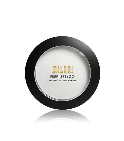Prep + Set + Go Transparent Face Powder (VEGAN)