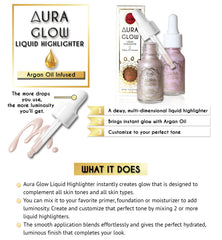 Aura Glow Liquid Highlighter - Crystal Sand