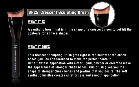 CRESCENT SCULPTING BRUSH (BR25)