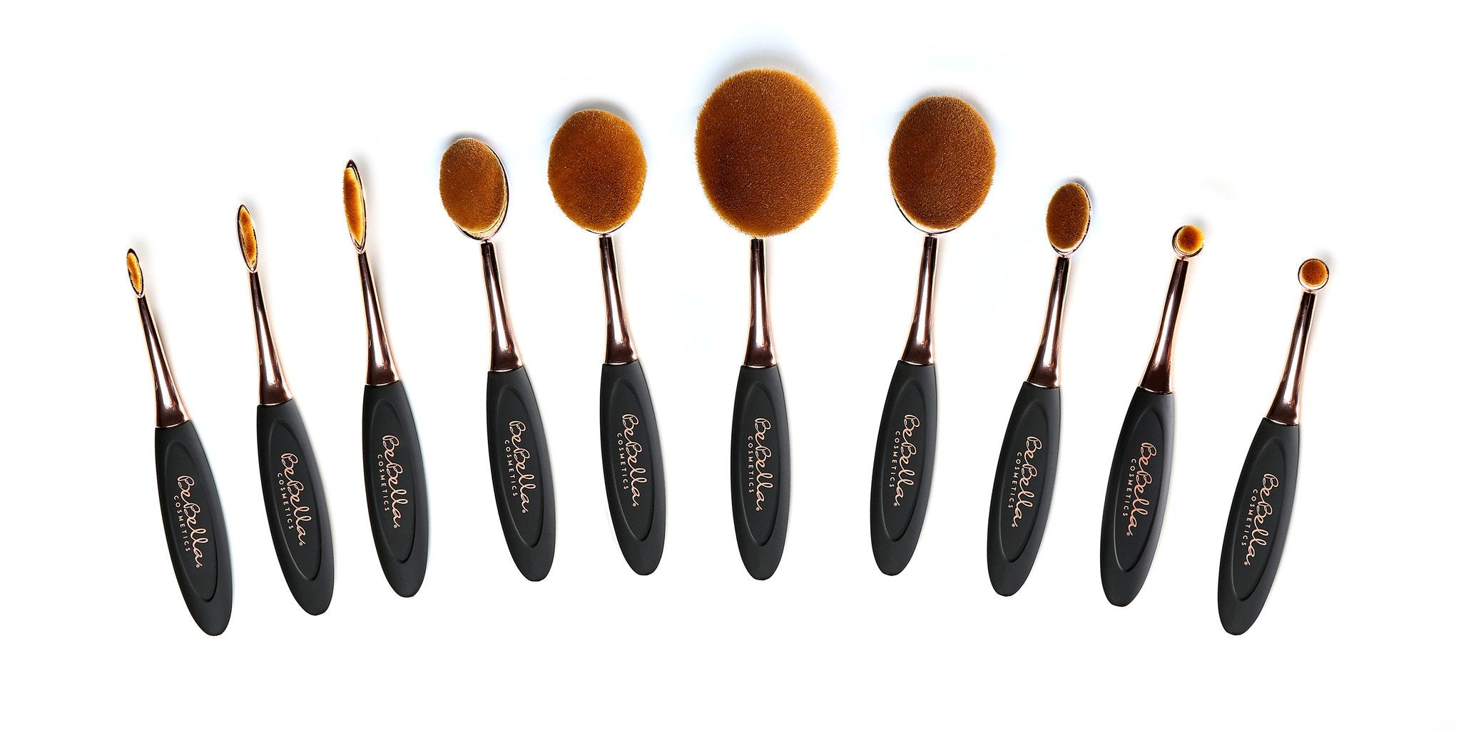 Evolution 10pc Oval Brush Set