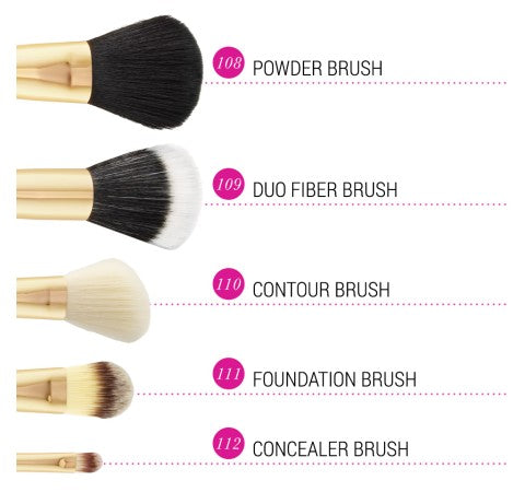 Face Essential - 5 Piece Brush Set