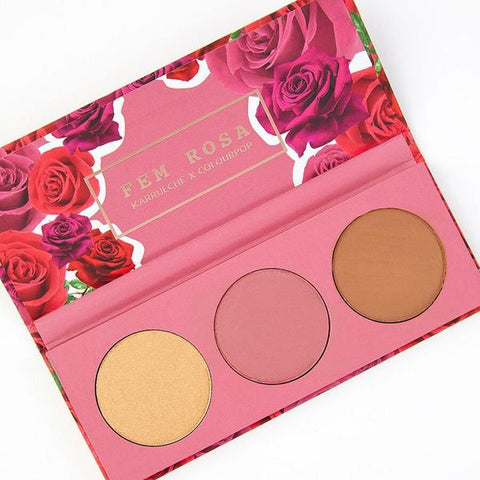FEM ROSA Her Pressed Powder Cheek Palette