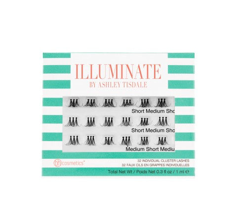 Illuminate by Ashley Tisdale - 32 Individual Cluster Lashes