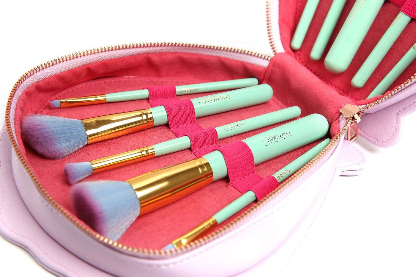 SEA SHELL MERMAID 10 Piece Brush Set