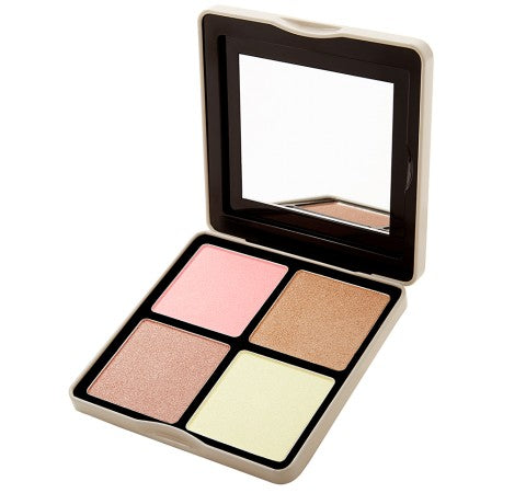 Nude Rose Highlight - 4 Color Highlighter Palette