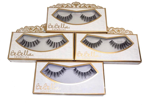100% Human Hair EYELASHES #47