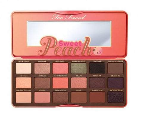 Sweet Peach Eyeshadow Collection