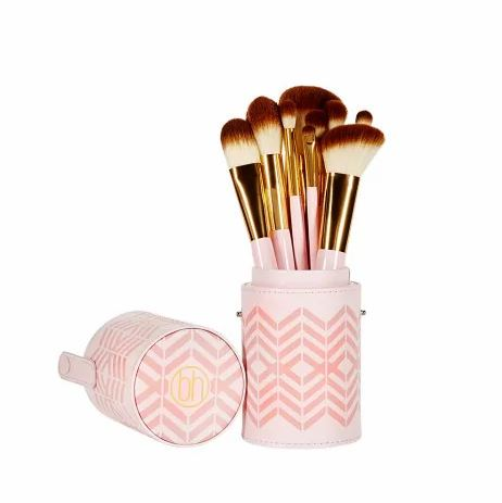 Pink Perfection - 10 Piece Makeup Brush Set