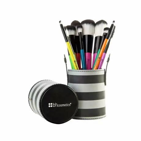 Pop Art - 10 Piece Makeup Brush Set