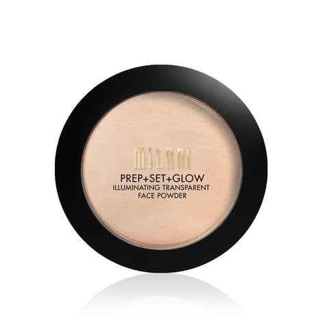 Prep + Set + Glow Illuminating Transparent Powder