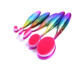 Rainbow EVO 5 Piece Oval Brush Set