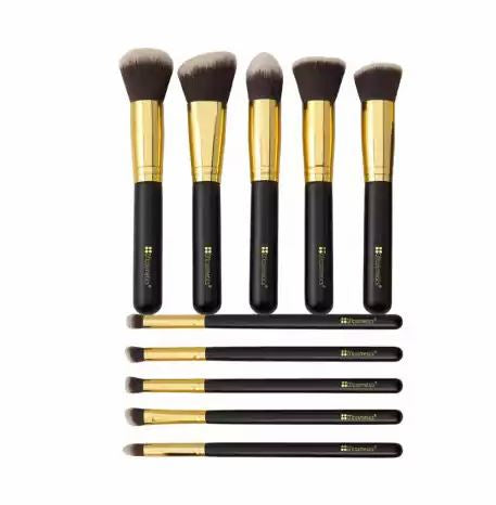 Sculpt and Blend - 10 Piece Makeup Brush Set
