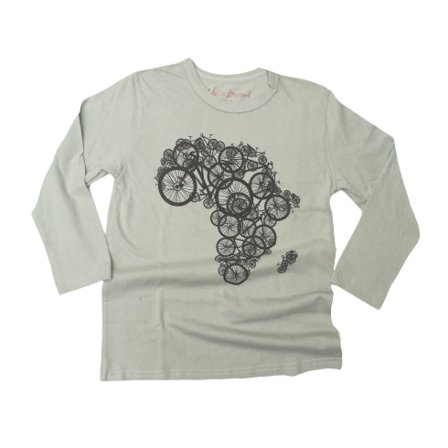 Bike Africa Kids Long sleeve T Shirt