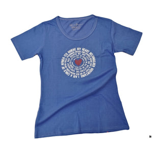 Circle Words T Shirt