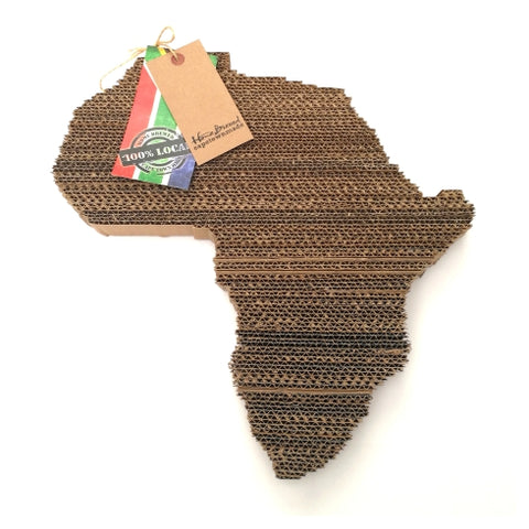 Hand Crafted Africa Shape