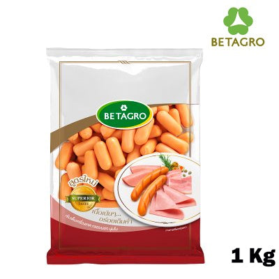 Smoked Baby Cheese Cocktail Sausages 1 Kg pack  (frozen)
