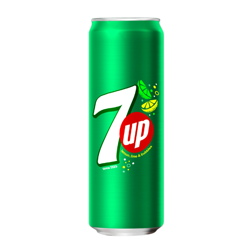 7up 330ml can CHILLED