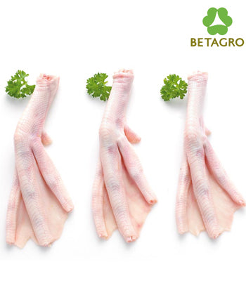 Duck Paws 1 kg pack  (frozen)