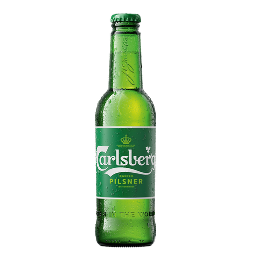 Carlsberg 330ml bottle CHILLED