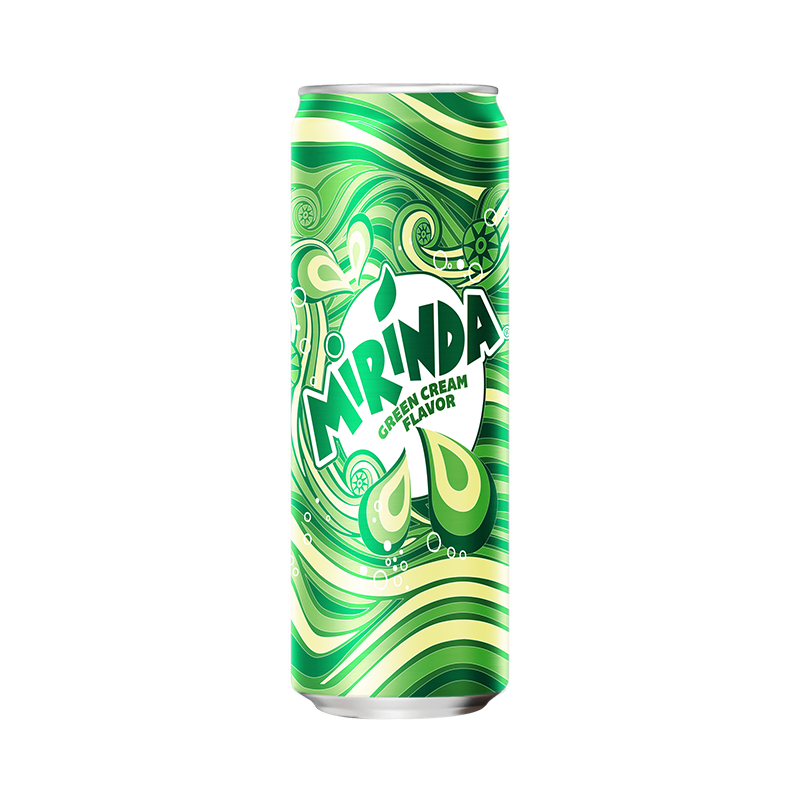 Mirinda Green 330ml can CHILLED