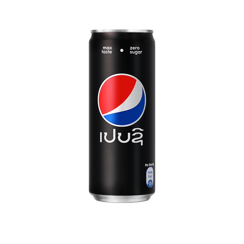 Pepsi Black 330ml can CHILLED